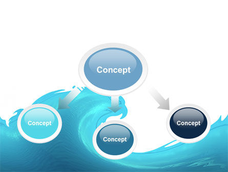 Wave PowerPoint Template Slide 4