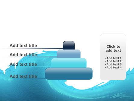 Wave PowerPoint Template Slide 8