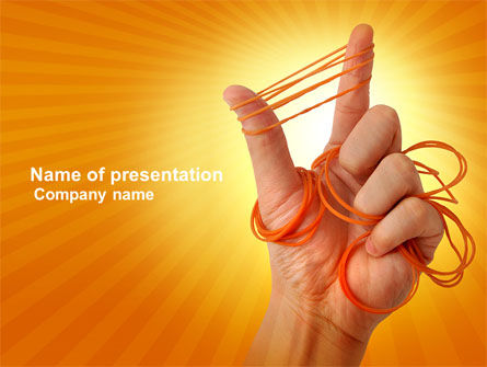 Elastic Band PowerPoint Template