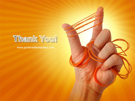 Elastic Band PowerPoint Template Slide 20