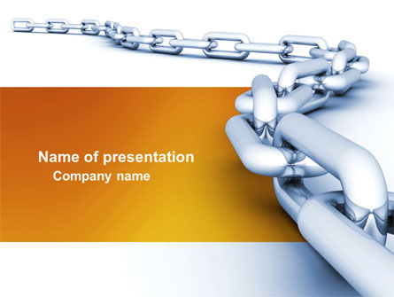 Business Concepts: Chain PowerPoint Template #04056