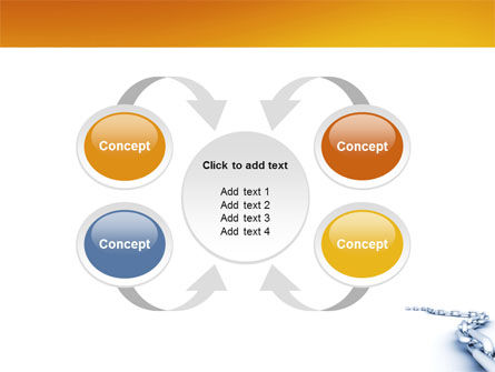Chain PowerPoint Template Slide 6