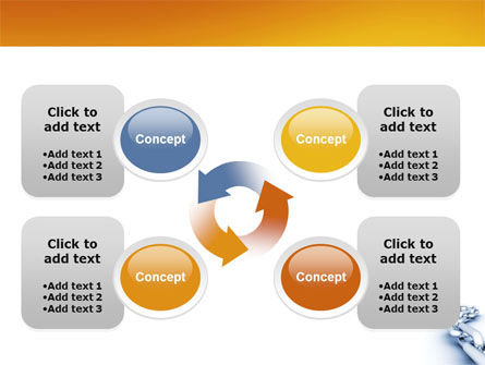 Chain PowerPoint Template Slide 9