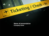 Cars and Transportation: Ticketing PowerPoint Template #04057