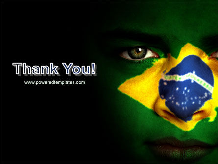 Face Of Brazil PowerPoint Template Slide 20