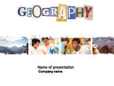 Education & Training: Templat PowerPoint Kursus Geografi Opsional #04060