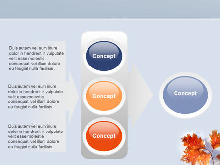 Late Autumn PowerPoint Template Slide 11