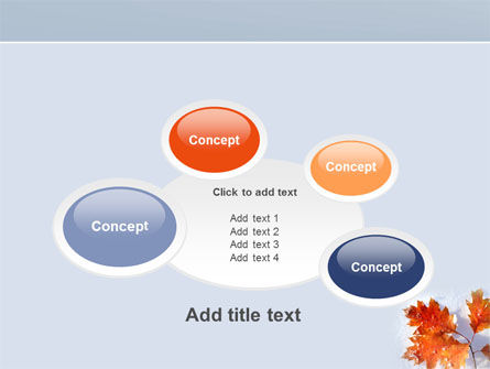 Late Autumn PowerPoint Template Slide 16