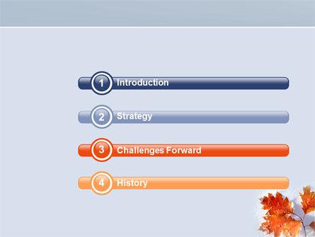 Late Autumn PowerPoint Template, Slide 3, 04062, Nature & Environment — PoweredTemplate.com