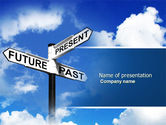 Business Concepts: Future Past PowerPoint Template #04063