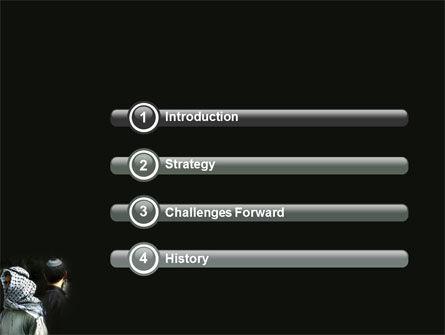 Arab-Israeli Conflict PowerPoint Template Slide 3