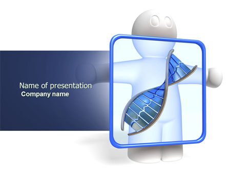 Medical: DNA Diagnostics PowerPoint Template #04067