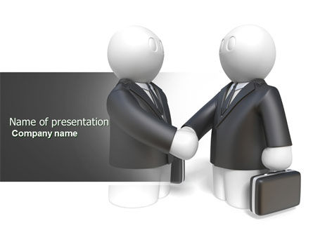 Contractual Agreement PowerPoint Template