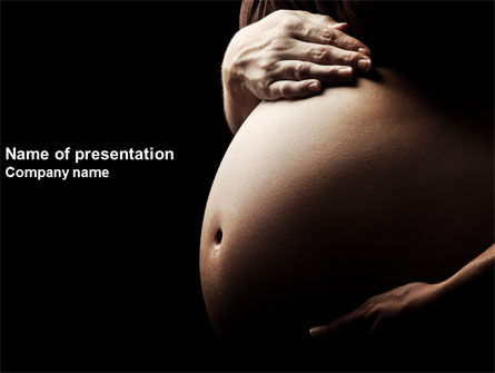 Medical: Childbearing PowerPoint Template #04071
