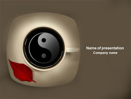 Tea Ceremony PowerPoint Template, 04073, Business Concepts — PoweredTemplate.com