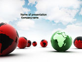 Global: Another World PowerPoint Template #04074