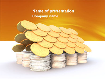 Mortgage Credit PowerPoint Template, 04076, Financial/Accounting — PoweredTemplate.com