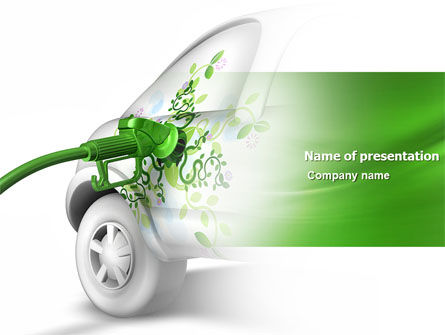 Nature & Environment: Biogas PowerPoint Template #04080