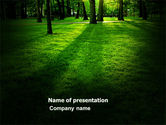 Nature & Environment: Woods PowerPoint Template #04082