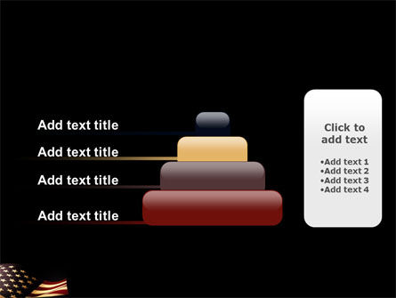 Old Glory USA Flag PowerPoint Template Slide 8