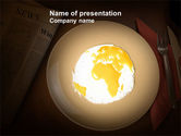 Global: Part of the World Free PowerPoint Template #04086
