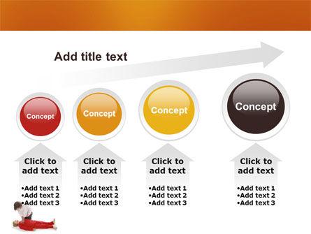Cardiac Massage PowerPoint Template Slide 13