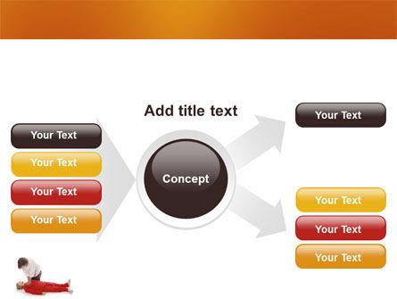 Cardiac Massage PowerPoint Template Slide 14