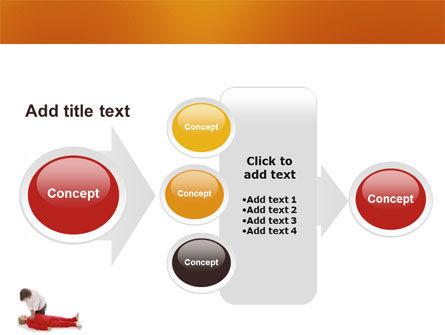 Cardiac Massage PowerPoint Template Slide 17