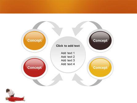 Cardiac Massage PowerPoint Template Slide 6
