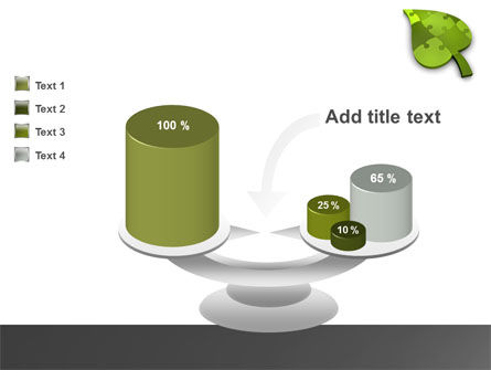 Green Ideas PowerPoint Template Slide 10