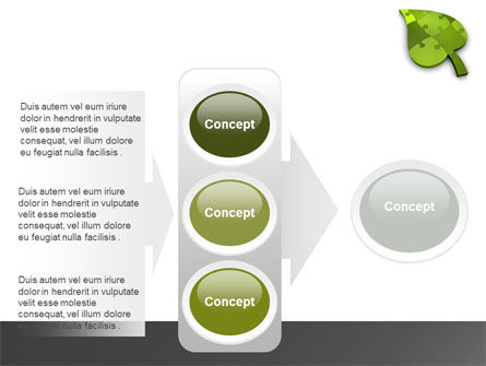Green Ideas PowerPoint Template Slide 11