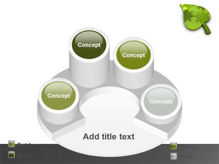 Green Ideas PowerPoint Template Slide 12