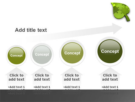 Green Ideas PowerPoint Template Slide 13