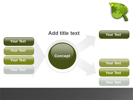 Green Ideas PowerPoint Template Slide 14