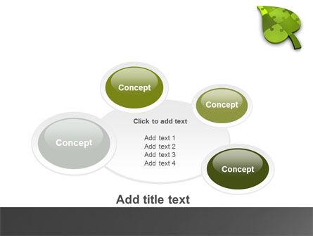 Green Ideas PowerPoint Template Slide 16