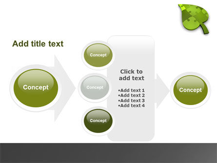 Green Ideas PowerPoint Template Slide 17