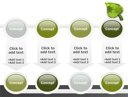 Green Ideas PowerPoint Template Slide 18