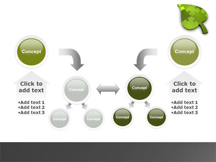 Green Ideas PowerPoint Template Slide 19