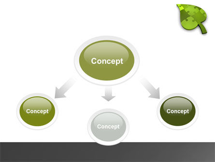 Green Ideas PowerPoint Template Slide 4
