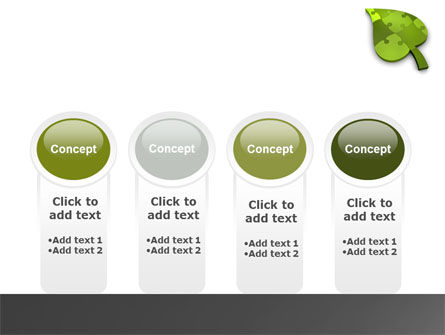 Green Ideas PowerPoint Template Slide 5