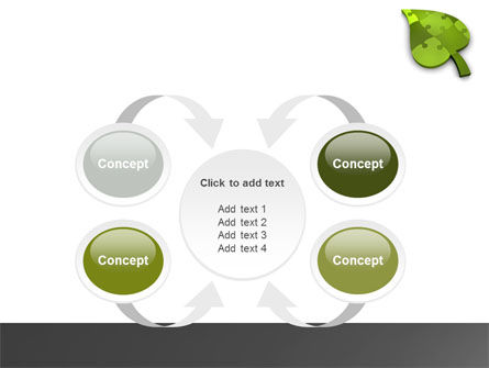 Green Ideas PowerPoint Template Slide 6