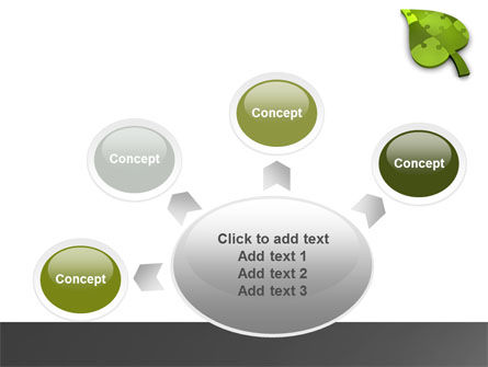 Green Ideas PowerPoint Template Slide 7