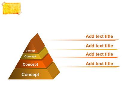 Piece Of Butter Paper PowerPoint Template Slide 12