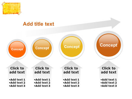 Piece Of Butter Paper PowerPoint Template Slide 13