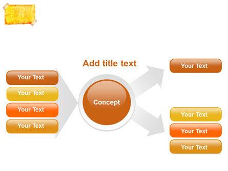 Piece Of Butter Paper PowerPoint Template Slide 14