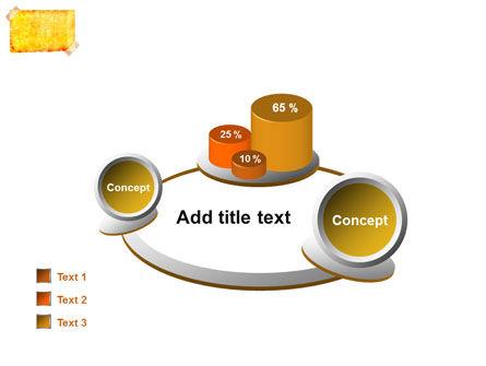 Piece Of Butter Paper PowerPoint Template Slide 16