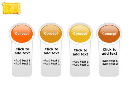 Piece Of Butter Paper PowerPoint Template Slide 5