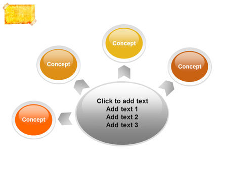 Piece Of Butter Paper PowerPoint Template Slide 7
