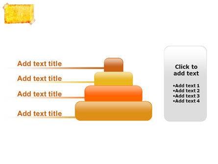 Piece Of Butter Paper PowerPoint Template Slide 8