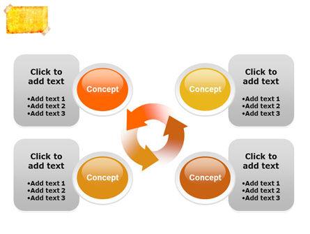 Piece Of Butter Paper PowerPoint Template Slide 9